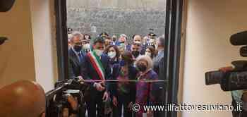"""Ercolano: La Ministra alle Pari Opportunità, Elena Bonetti, all'inaugurazione del Centro Antiviolenza """"Annabella Cozzolino"""". - Il Fatto Vesuviano"""