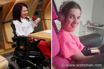 Pam Duncan-Glancy MSP: Video shows heartwarming moment young disabled woman watches Scotland's first permanent wheelchair-user take oath at Holyrood - The Scotsman