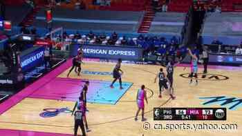 Duncan Robinson with a deep 3 vs the Philadelphia 76ers - Yahoo Canada Sports