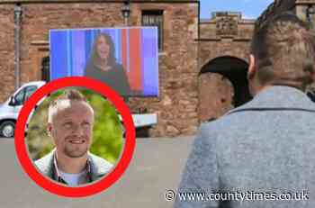 Llanymynech man Duncan thanked on BBC One for pandemic support - Powys County Times