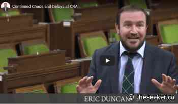 Duncan Calls Out Continued Chaos and Delays at CRA - The Seeker