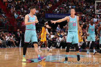 Duncan Robinson celebrates Tyler Herro's triumphant return to being 'killer' for Miami... - Heat Nation
