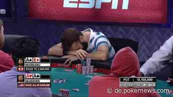 Old School vs. New School: Negreanu analysiert eine 2015 WSOP Main Event Hand