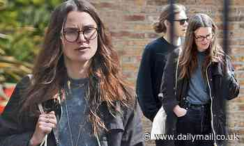 Keira Knightley steps out with husband James Righton after submitting documents to drop surname - Daily Mail