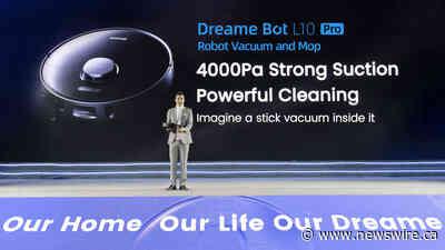 Dreame Technology celosvětově s úspěchem vydává řadu nových inteligentních zařízení pro domácí úklid