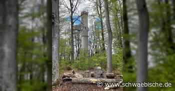 Die meisten Waldseer Neubürger und Gäste der Kurstadt dürften dieses denkmalgeschützte Bauwerk von 1889 gar nicht kennen, weil es bislang von stattlichen Bäumen umgeben war. Nun ist es zu sehen. - Schwäbische
