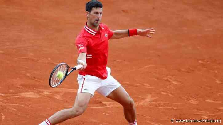 Novak Djokovic wary of Stefanos Tsitsipas threat ahead of Rome clash