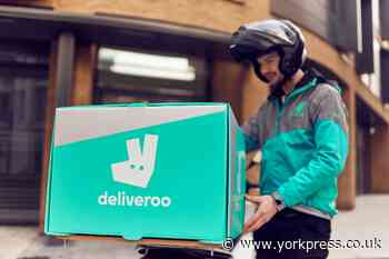 Deliveroo launches  in Scaborough with 50 new jobs