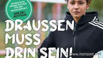 #draussenmussdrinsein: DFB und DOSB fordern Restart für Amateursport unter freiem Himmel