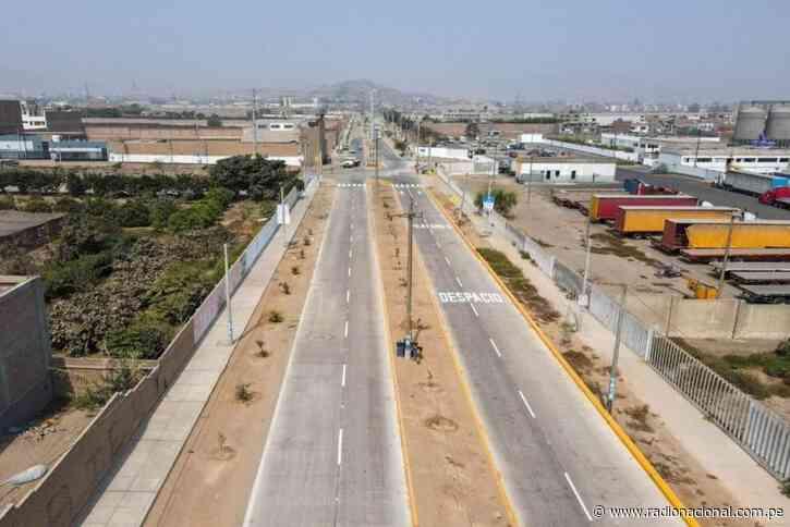 Entregan nuevas pistas y veredas en Chosica - Radio Nacional del Perú