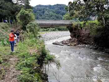 Ordenan el cierre del puente sobre el río Chiriquí Viejo - La Prensa Panamá