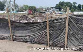 Muere trabajador en remodelación de estadio en Jalpa de Méndez - El Heraldo de Tabasco