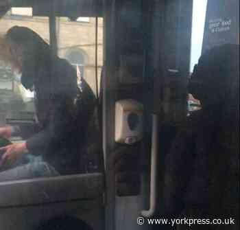 YORKSHIRE NEWS: Youths appear to try hijacking bus before being chased off