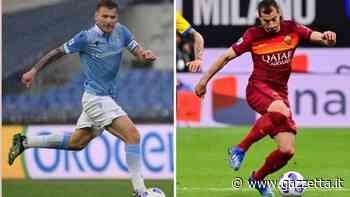 Roma-Lazio, il derby degli attacchi: Immobile contro la cooperativa del gol