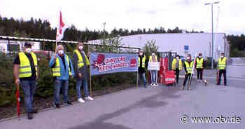 Sulzbach-Rosenberg: Erster Warnstreiktag im Groß- und Außenhandel - Oberpfalz TV