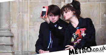 Helena Bonham Carter playfully poses in rare appearance with son Billy - Metro.co.uk