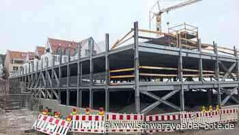 Balingen - Neues Parkhaus bietet mehr als Stellplätze - Schwarzwälder Bote