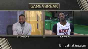 Video: Bam Adebayo pissed at Dwyane Wade for taking forever to respond to... - Heat Nation