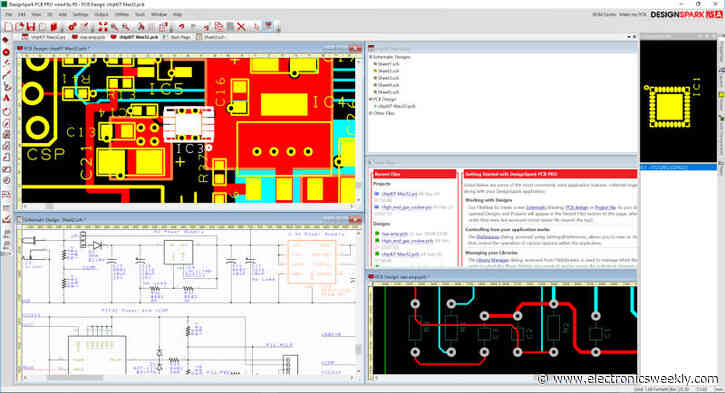 RS upgrades PCB design software to v10.0