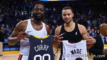 """""""Stephen Curry is just impossible to guard"""": Dwyane Wade is nothing but praise for the Warriors' superstar on... - The Sportsrush"""