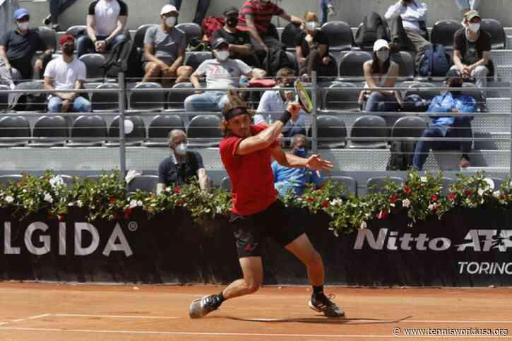 ATP Rome: Stefanos Tsitsipas vs. Novak Djokovic! Reilly Opelka advances