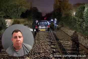 Cleckheaton driver abandoned car on Norton railway