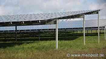 Mit der Photovoltaikanlage am Lindenberg in Stockheim geht es weiter - Main-Post
