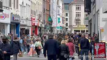 'Code rood' in Gent-centrum: drukste dag sinds het uitbreken van de coronacrisis
