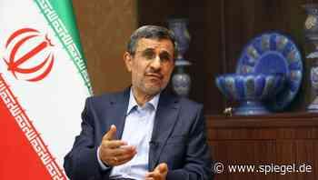 Iran: Ahmadinejad will erneut für Präsidentenamt kandidieren - DER SPIEGEL