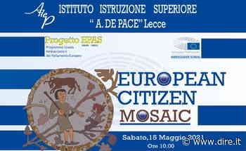 Lecce, all'istituto De Pace si festeggia l'UE con gli 'ambasciatori junior' - DIRE.it - Dire