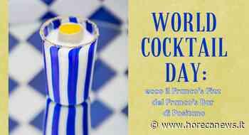 World Cocktail Day: ecco il Franco's Fizz del Franco's Bar di Positano - Horeca News