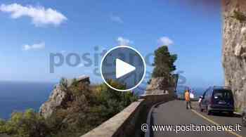 Continuano i lavori sulla Strada Statale 163: traffico da Positano a Piano di Sorrento - Positanonews - Positanonews