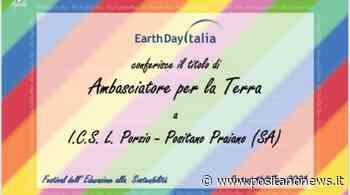 Positano, ICS Porzio Ambasciatore della Terra 2021 - Positanonews - Positanonews