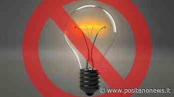 Positano: venerdì 14 interruzione dell'energia elettrica. Ecco le vie interessate - Positanonews - Positanonews