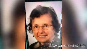 82-Jährige wird vermisst - Hält sich wohl im Stadtgebiet Rosenheim auf