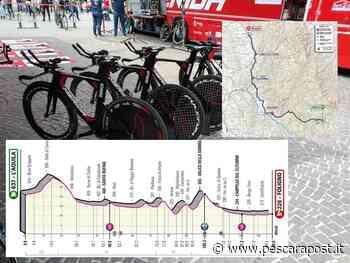 Giro d'Italia 2021 Abruzzo, tappa 10 L'Aquila – Foligno: percorso e dettagli [MAPPA] - PescaraPost