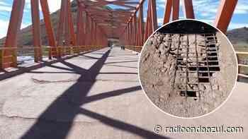 Azángaro: Alertan que puente principal en cualquier momento podría colapsar - Radio Onda Azul
