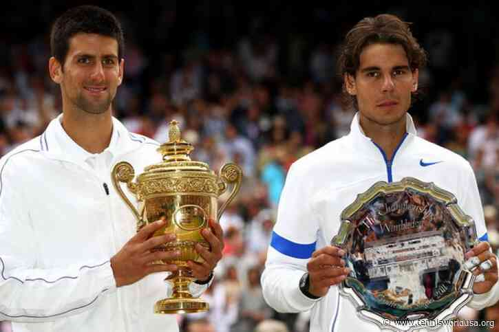 Novak Djokovic places Rafael Nadal Wimbledon win above one over Roger Federer
