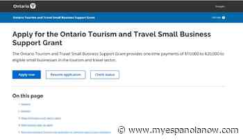 Ontario provides more support for small tourism and travel businesses - My Eespanola Now