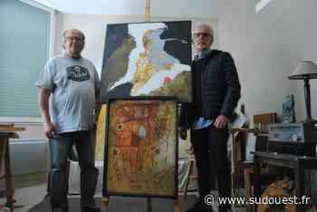 Bidart : pour sa réouverture, la galerie Pili Taffernaberry accueille deux peintres - Sud Ouest