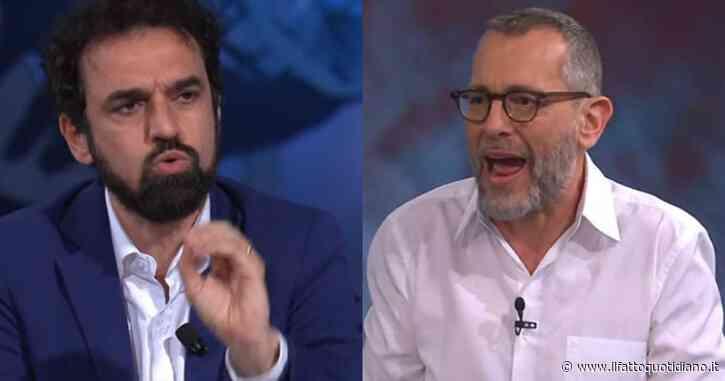 """Formigli si infuria due volte con Dino Giarrusso: """"Se ritieni che trucchiamo i sondaggi su Virginia Raggi, dillo. Così ti querelo"""""""