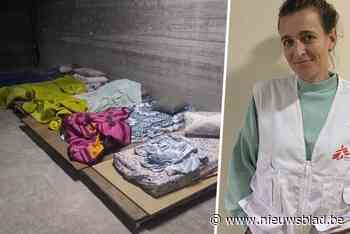 """Vlaamse Hannelore zit al dagen vast in schuilkelder in Gaza: """"Alles davert constant, ik weet niet eens hoe dichtbij de bommen vallen"""" - Het Nieuwsblad"""