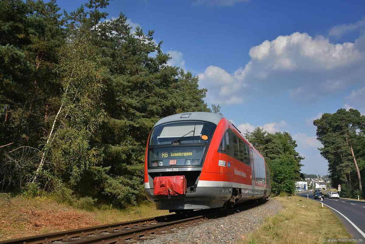 Bauarbeiten: Zugfahrpläne rund um Aschaffenburg ändern sich - Main-Echo