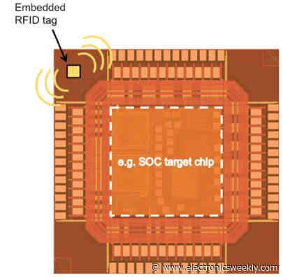 'Smallest' Gen 2 RFID chip is 125 x 245μm