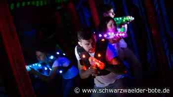 Lasertag in Schömberg - Sobald Corona es zulässt, kann gespielt werden - Schwarzwälder Bote