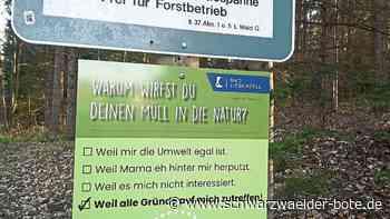 Bad Liebenzell - Helfer tragen säckeweise Müll zusammen - Schwarzwälder Bote