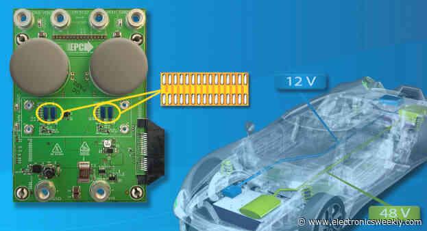 GaN 1.5kW bidirectional 48-to-12V dc-dc demo board for automotive