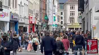 'Code rood' in centrum Gent: drukste dag sinds het uitbreken van de coronacrisis - Het Nieuwsblad