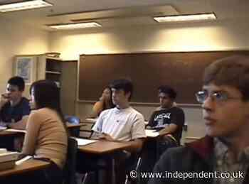 Chilling resurfaced video shows classroom responding to 9/11 attacks