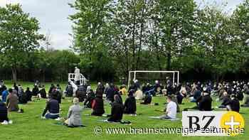 Muslime begehen Ramadan-Fest in Salzgitter mit gemeinsamem Gebet